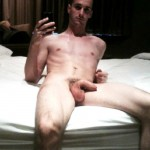 Slim Nude Man With A Soft Uncut Penis