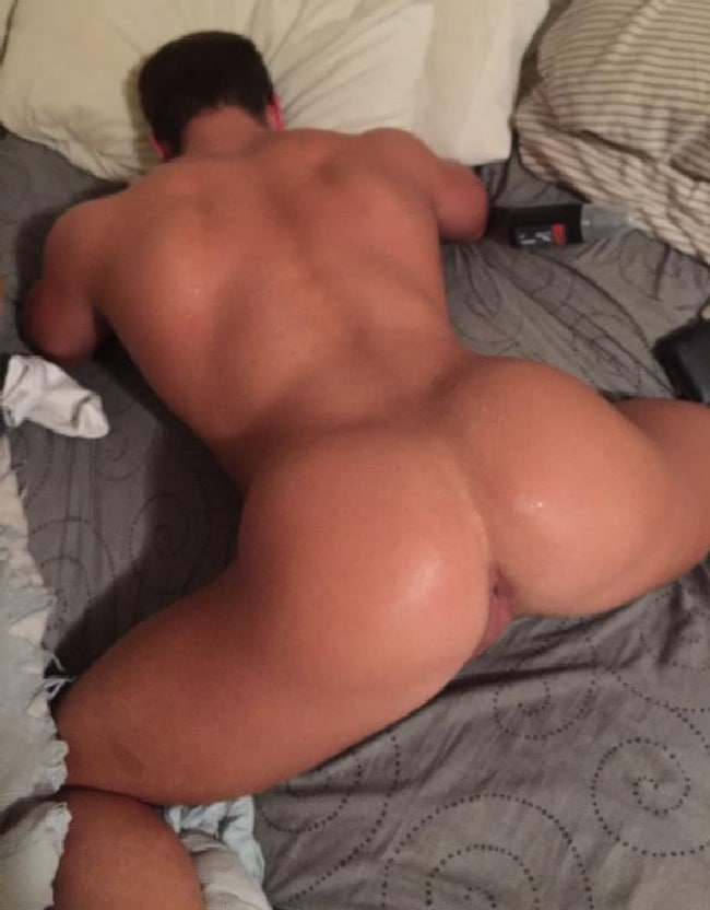 Dude Gets Cumload On His Ass