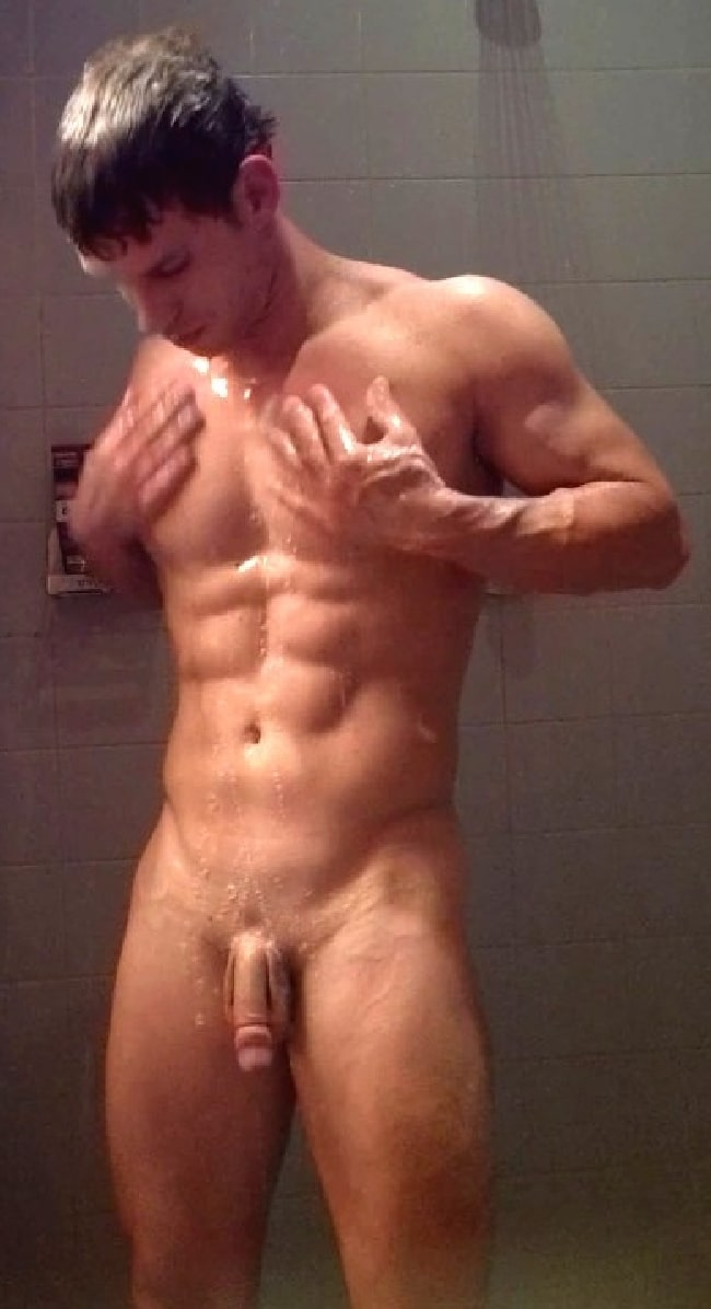 Shower Man Nude